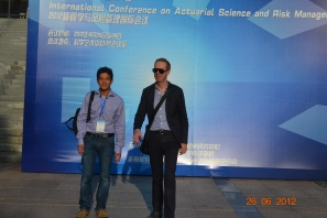Xiamen, China, June 2012, International Conference on Actuarial Science and Risk Management