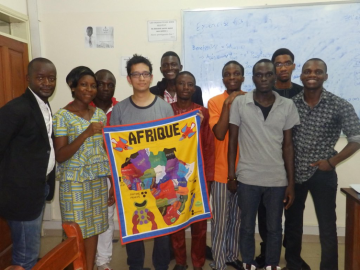 present from my students, Cotonou, Benin, April 2015
