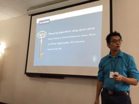 Presentation in Oaxaca, Mexico, October 2015