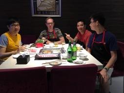 With Prof. Jan Dhaene, Prof Boris Choy and Jing Yao, Beijing, China, June 8-9, 2016, Gerber-Shiu Workshop,